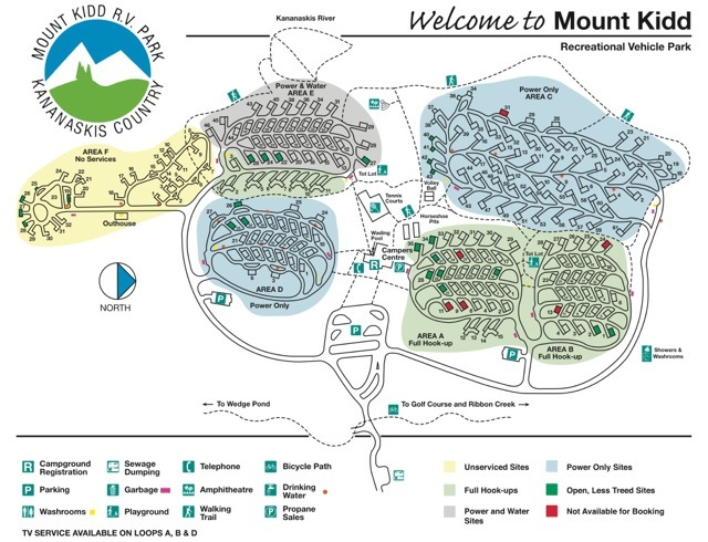 Mount Kidd Rv Park Canada Vakanties Nl Www Canada